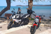 Seaside and Volterra Motorcycle Tour - Baratti sea view